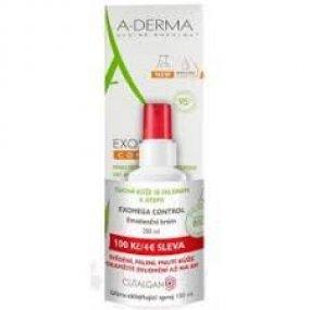 A-DERMA Exomega Control Emolienční krém 200 ml+CUTALGAN sprej 100 ml