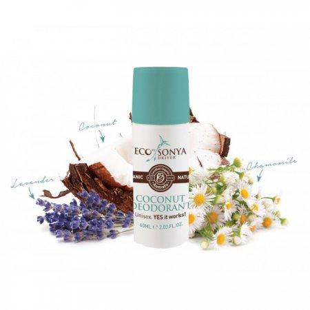 Eco by Sonya Přírodní deodorant kokosový - Coconut Deodorant