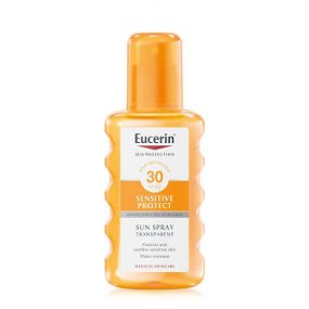 Eucerin SENSITIVE PROTECT SPF 30 transparentní sprej 200 ml