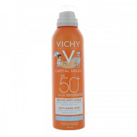 VICHY Idéal Soleil SPF 50 Jemný sprej pro děti odpuzující písek 200 ml