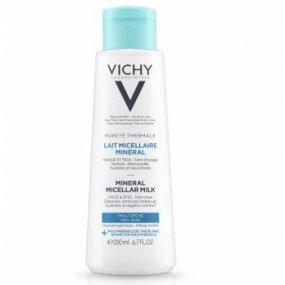 Vichy Pureté thermale Minerální micelární mléko pro suchou pleť 200 ml