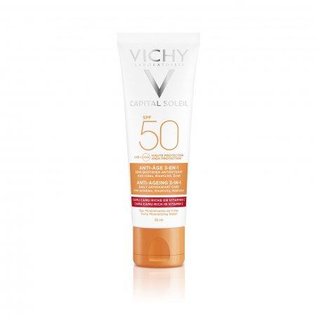 Vichy Idéal Soleil Anti-age ochranný krém proti stárnutí pleti SPF 50 50 ml
